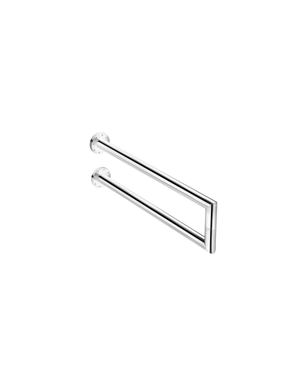 Pomdor Toallero lateral doble cromo kubic