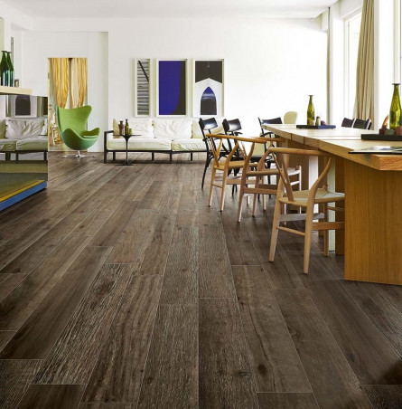 cerim wood color brown gres porcelanico de 10mm - Suelo Imitacion Madera