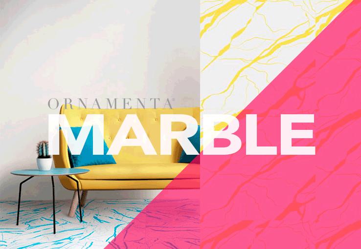Marble de ornamenta rompe los esquemas del m rmol - Colores de marmol ...