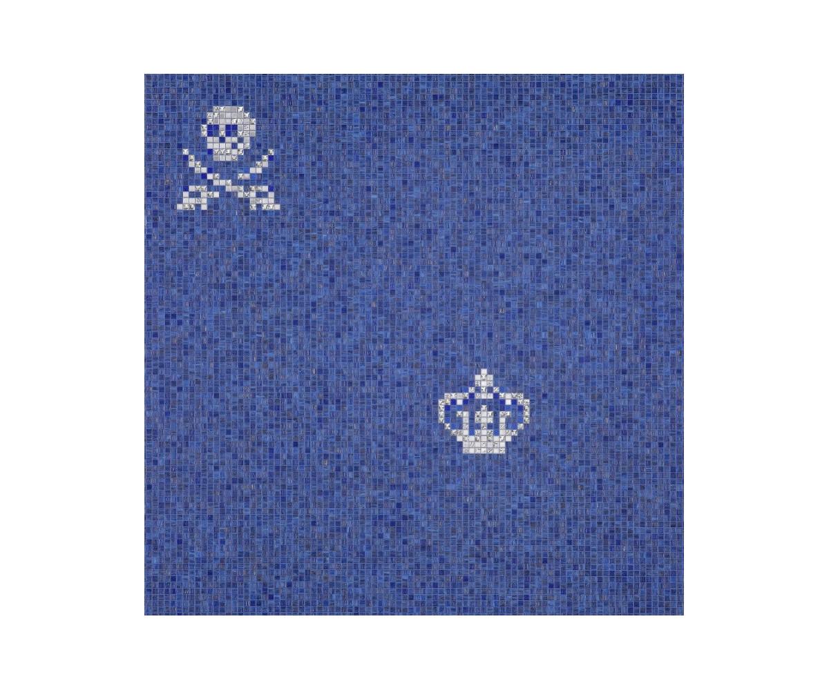 bisazza-decori-luxe-mosaico-skulls-crowns-blue