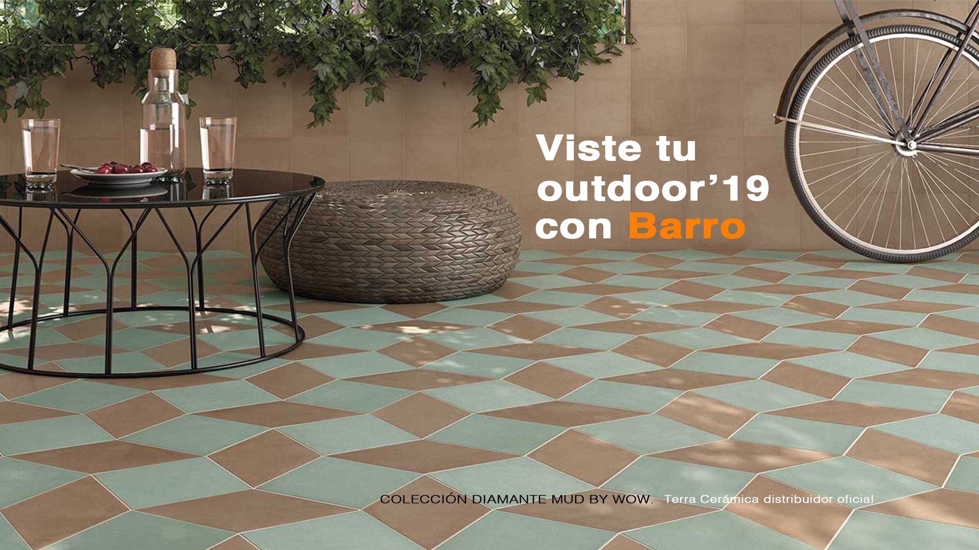 Viste tu Outdoor con Barro.