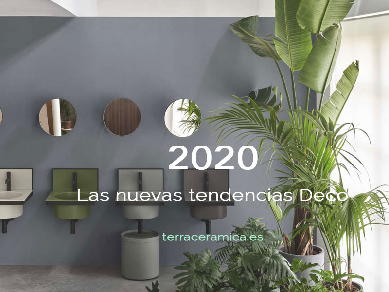 Tendencias decorativas para el 2020