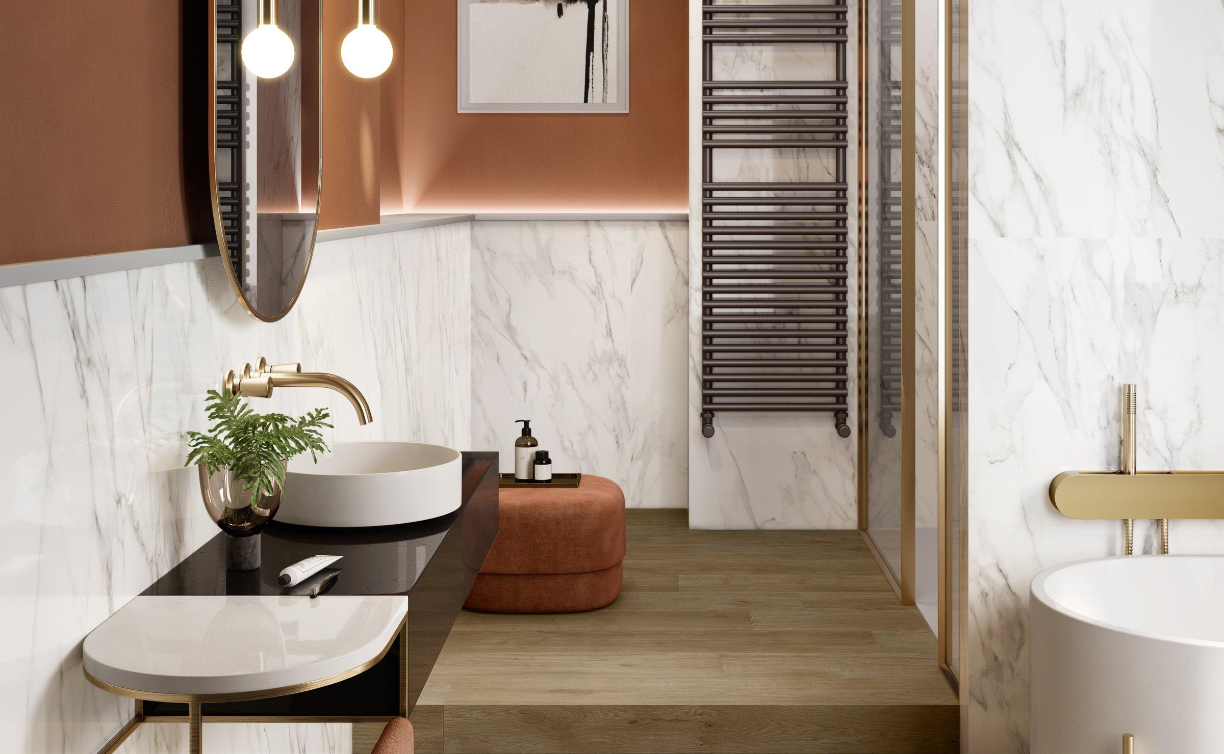 azulejos y estilos para baños
