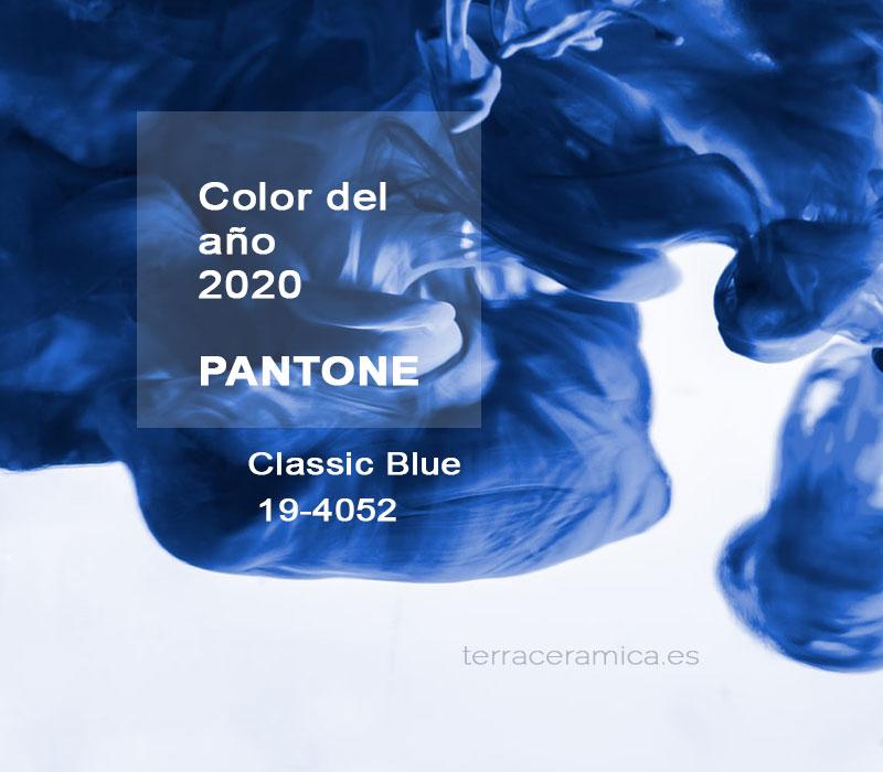 color del año 2020 pantone azul