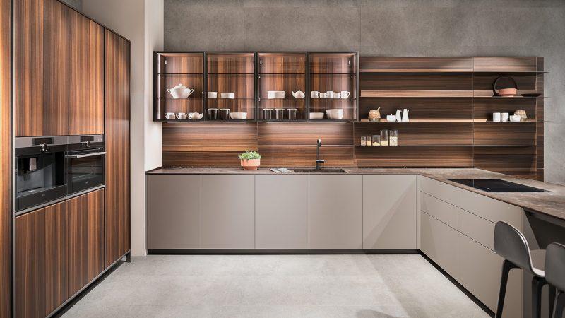 Las cocinas que interactúan con el espacio.