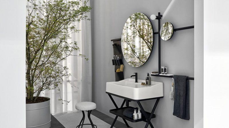 Siwa, el lavabo con caballete más original de Cerámica Cielo.