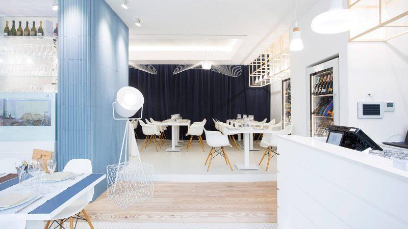 4 Restaurantes de diseño vestidos con colecciones Mutina