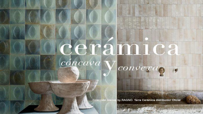 Gleeze,cerámica cóncava y convexa by Ragno