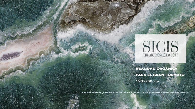 Realidad orgánica para el gran formato by Sicis