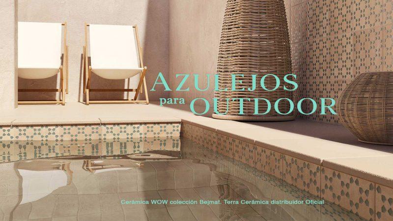 Azulejos de la firma WOW que visten tu Outdoor