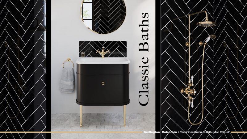 Decora tu baño al estilo clásico con diseño exclusivos Burlington